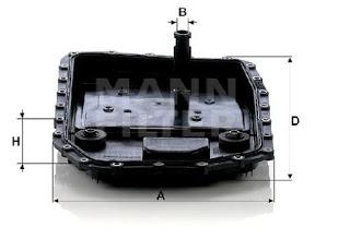 Lọc dầu Mann H50001